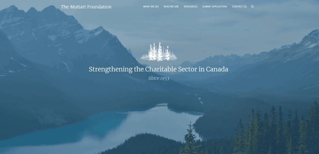 screenshot of Muttart Foundation (Edmonton)